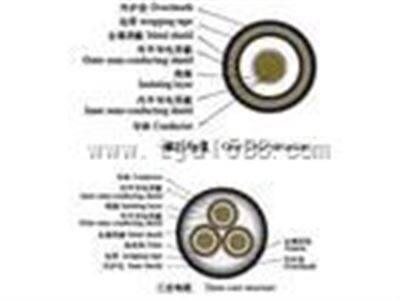MCPTJ矿用监视型电缆 1.9/3.3KV挖煤机橡胶电缆