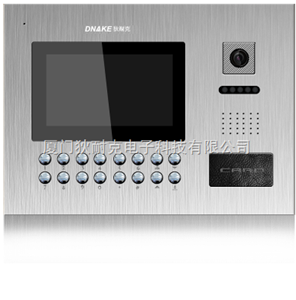 狄耐克F7款可视门口主机