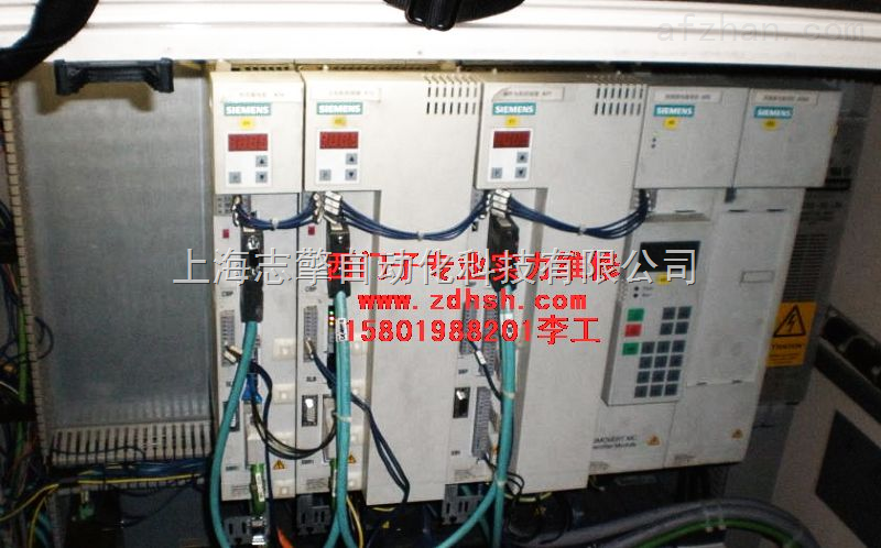 上海浙江西门子6SE70变频器短路维修