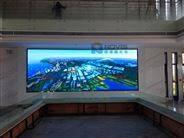 海鲜酒楼LED大屏幕P4全彩壁挂高清LED电子显示屏价格