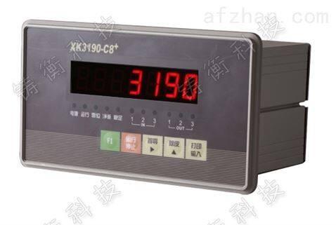 配料称重显示控制器-产品报价-上海铸衡电子科技有限