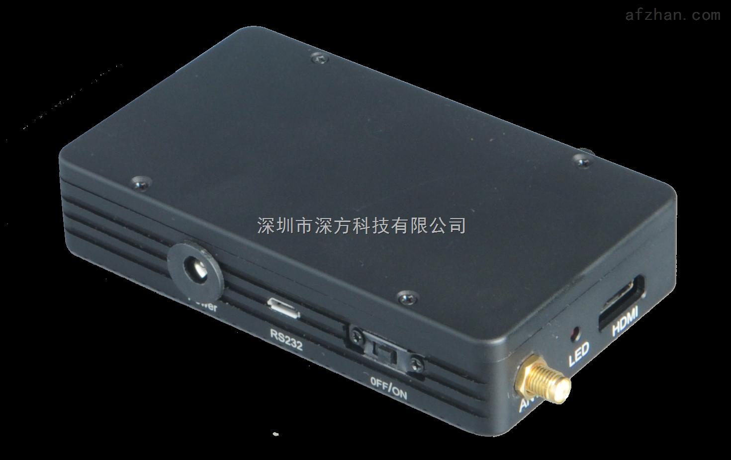 无人机高清无线传输 航拍无线监控设备 小型无线视频发射器