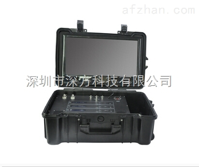 4路无线视频接收机 便携式无线传输设备 多功能无线监控系统
