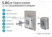 SF-5823WJ-电信级无线网桥 高带宽数字无线传输 城中村无线监控方案