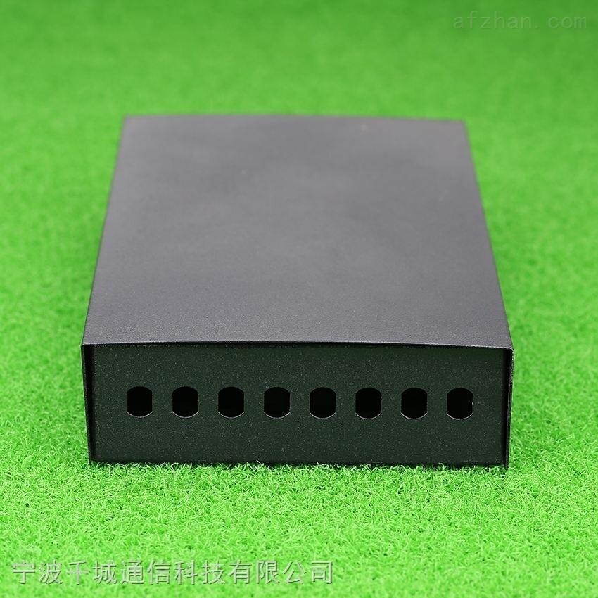 供应光纤终端盒厚接线盒桌面式光缆尾纤盒熔接盒