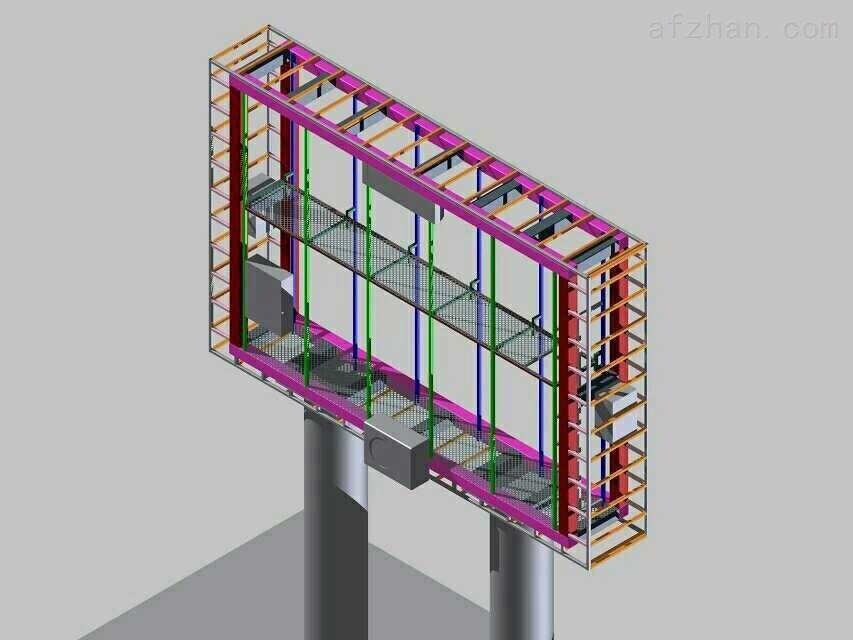 的led显示屏钢结构设计师