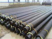 钢套钢型预制内滑动支架直埋保温管绝热结构