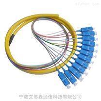 供应SC-12芯束状尾纤