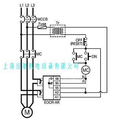 三和eocr-ar电动机保护器/电子式过电流继电器