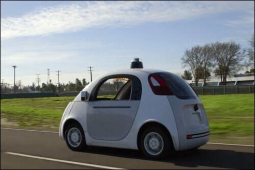 谷歌无人驾驶汽车-人工智能感知差异或已成阻碍无人驾驶发展桎梏高清图片