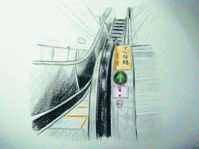 北京地铁手绘漫画普及安全知识