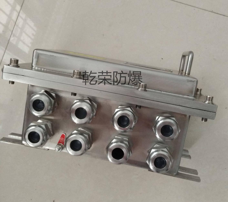 定做316材质不锈钢防爆接线箱图片