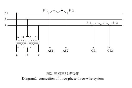35w户外干式组合互感器接线图