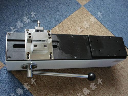 手动卧式测试台
