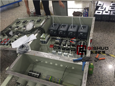 电机软启动保护防爆控制柜